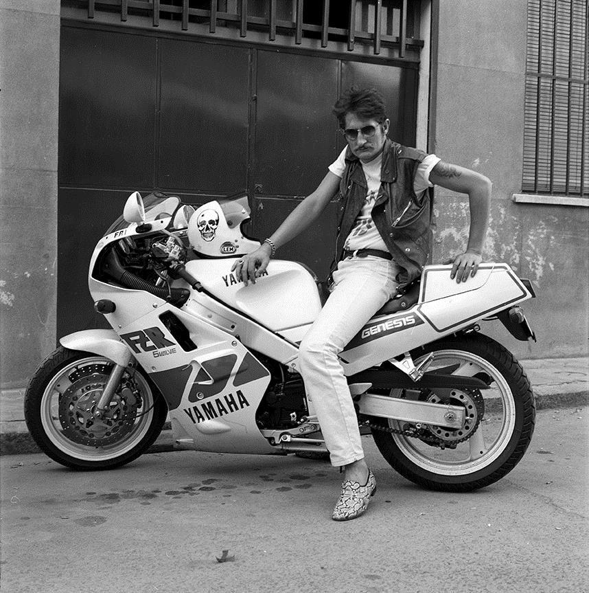 ALBERTO GARCÍA-ALIX. El argentino y su Yamaha 1000 (1989)